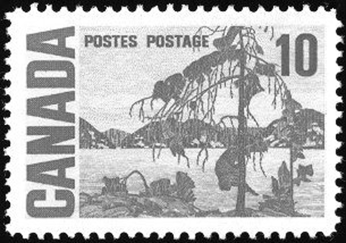 Timbre Tom Thomson Stamp