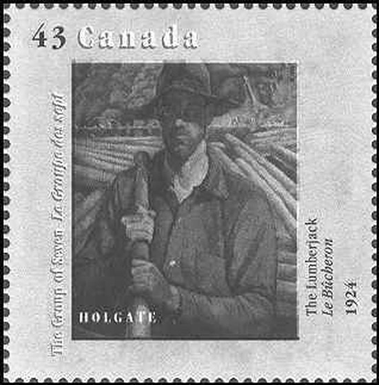 Timbre Holdgate Stamp