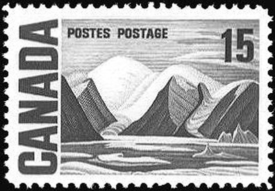 Timbre Lawren Harris Stamp